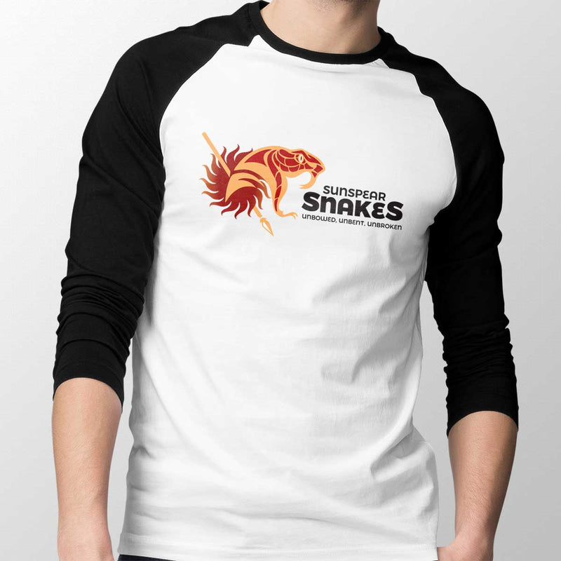 Sunspear Snakes Unisex Baseball Tee