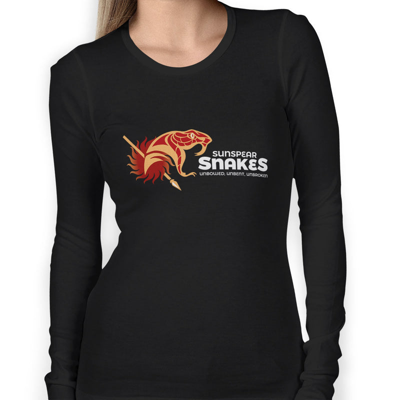 Sunspear Snakes Women's Long Sleeve Tee