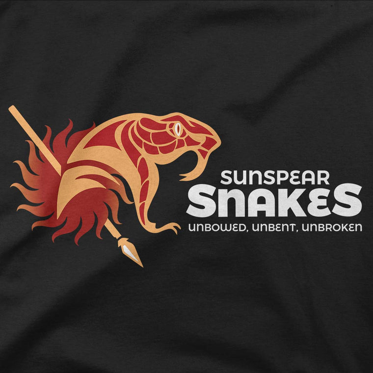 Sunspear Snakes Women's Capped Sleeve Tee