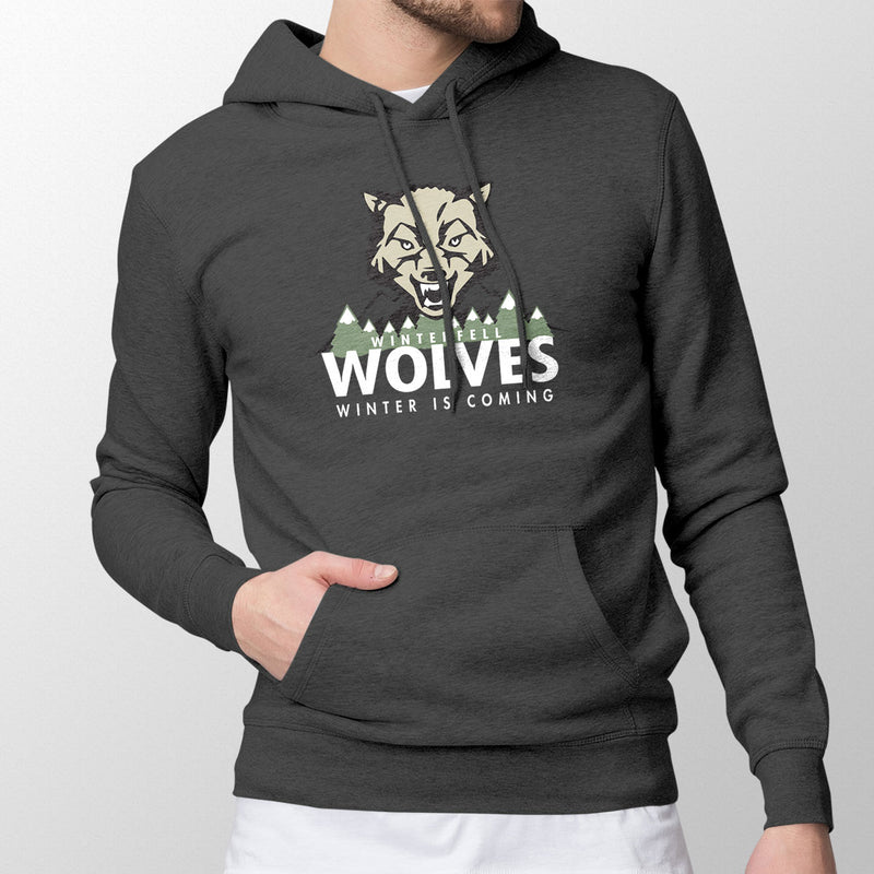Winterfell Wolves Men's Pullover Hoodie