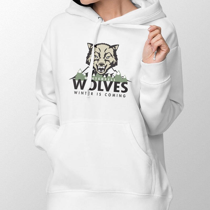 Winterfell Wolves Women's Pullover Hoodie
