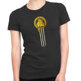game of thrones hand of the wolverine tshirt