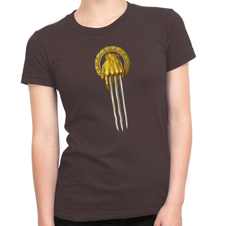 Game of Thrones: Hand of the Wolverine Women's Classic Fitted Tee