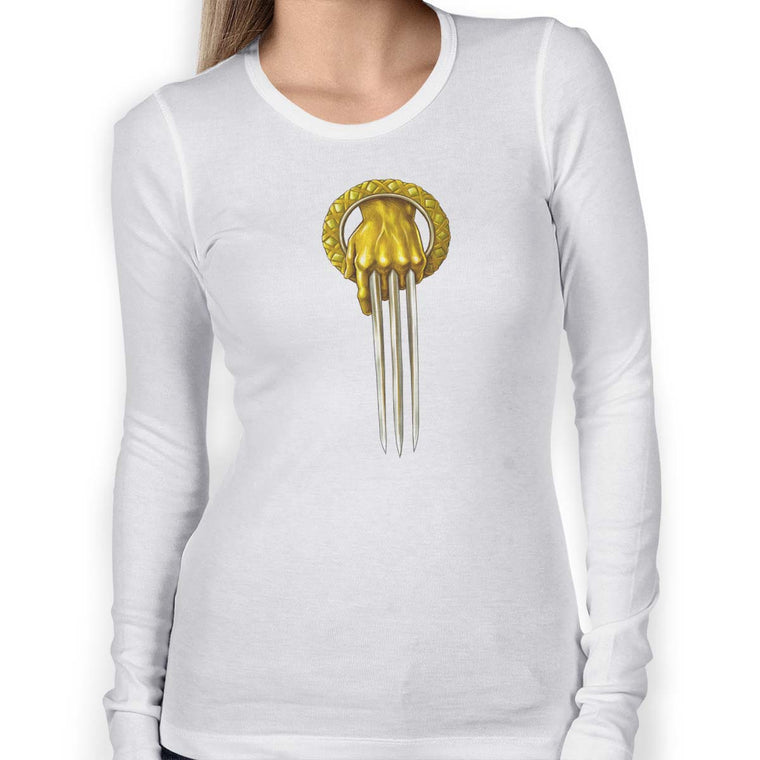 Hand of the King Wolverine Women's Long Sleeve Graphic Tee
