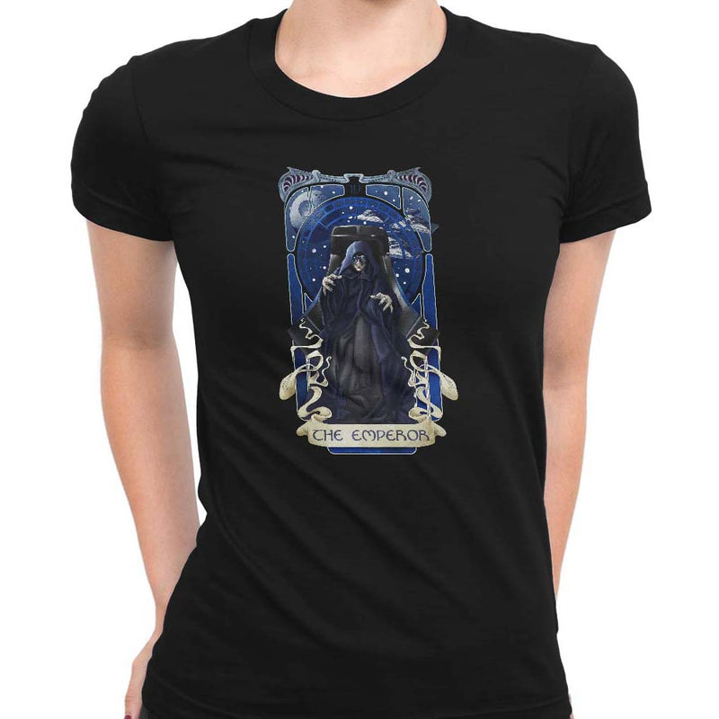 Emperor Tarot Women's Classic Fitted Tee