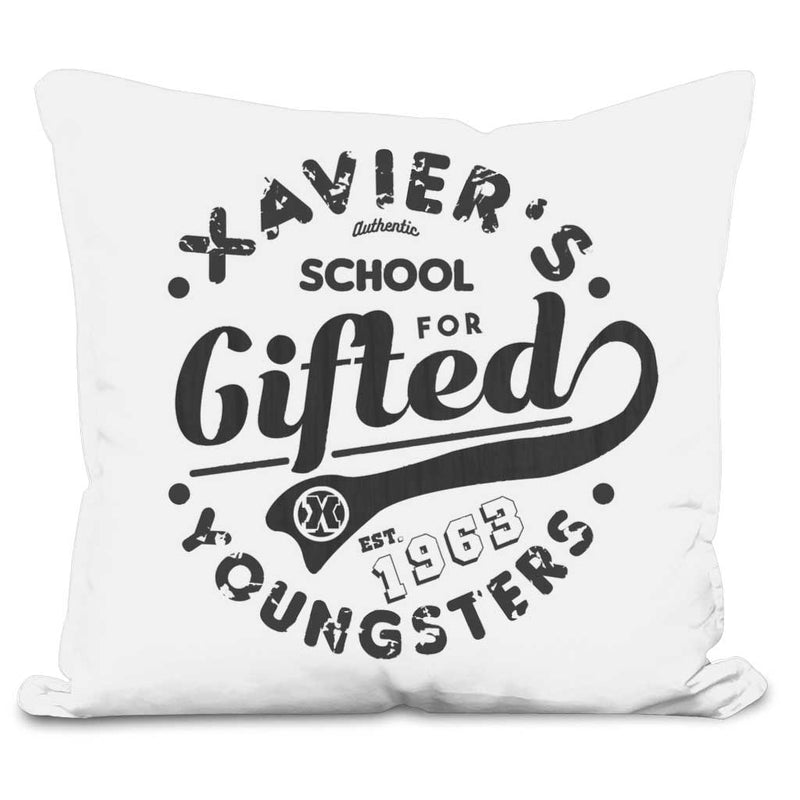 x-men cushion white