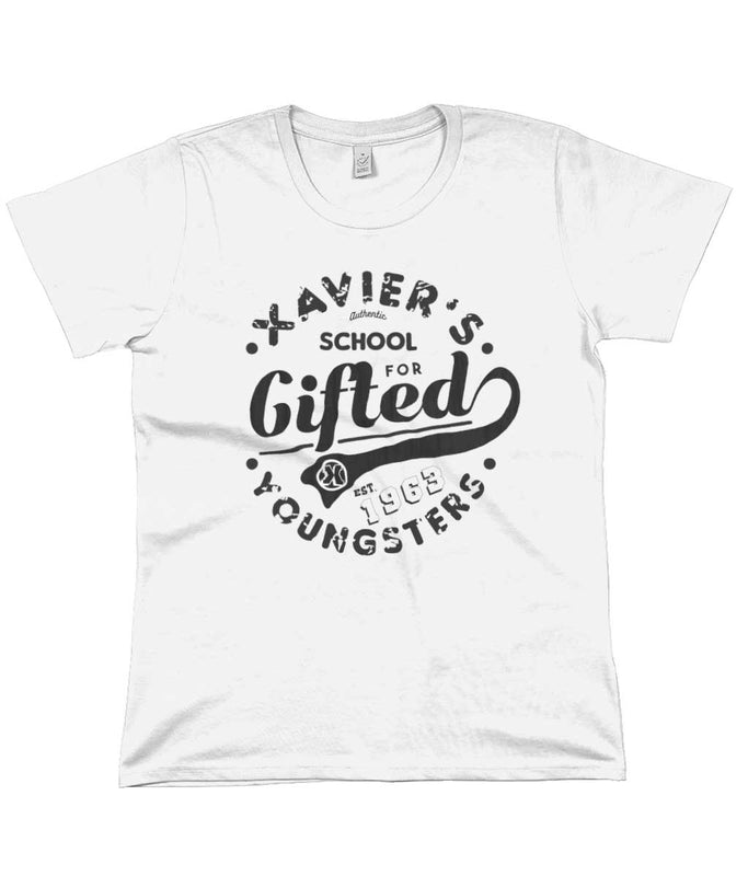 xavier school womens tshirt