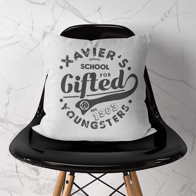Xavier's School Cushion