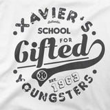 xavier school mens tshirt design