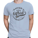 x-men mens tshirt light blue