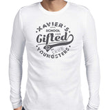 xavier school mens tshirt white