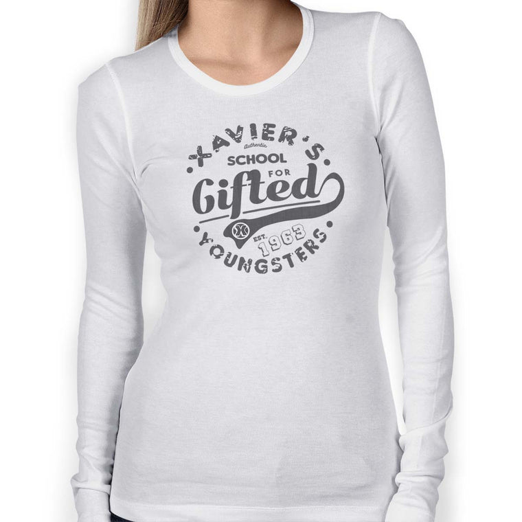 Xavier's School Women's Long Sleeve Tee