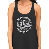 x-men xavier school tank top black