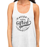 x-men xavier school tank top white