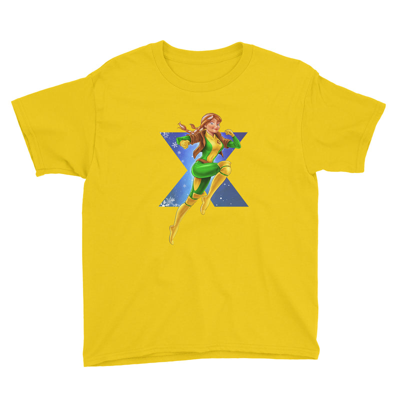 Frozen Anna meets X-Men Rogue Kids Classic Tee