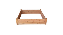 GroGardens 4' x 4' Redwood Raised Garden Bed - GroGardens