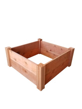 "GroGardens 2' x 2' x 11"" Redwood Raised Garden Bed"