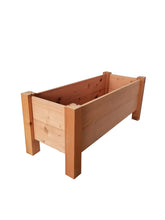 "GroGardens 1' x 3' x 16""  Redwood Elevated Garden Bed - GroGardens"