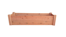 GroGardens 1' x 4' Redwood Raised Garden Bed - GroGardens