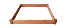 "Grogardens 4' x 4' x 5.5"" Redwood Raised Garden Bed - GroGardens"