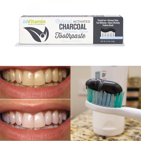 Bamboo Charcoal Teeth Whitner Toothpaste - All Natural