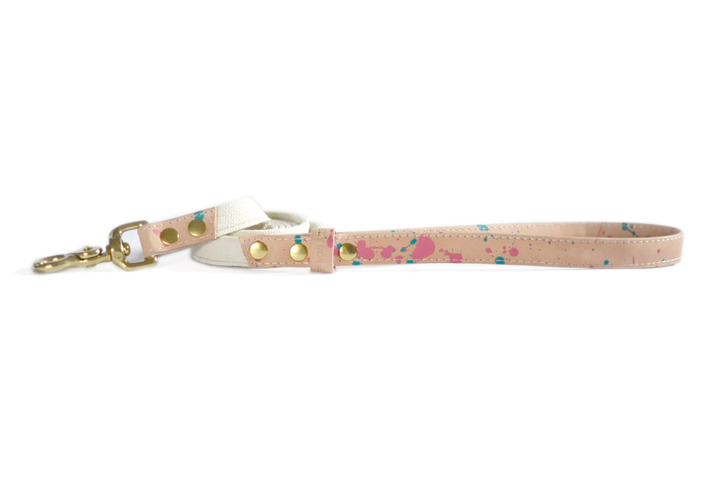 HEY DOG Co.| Pinky Dots Leash