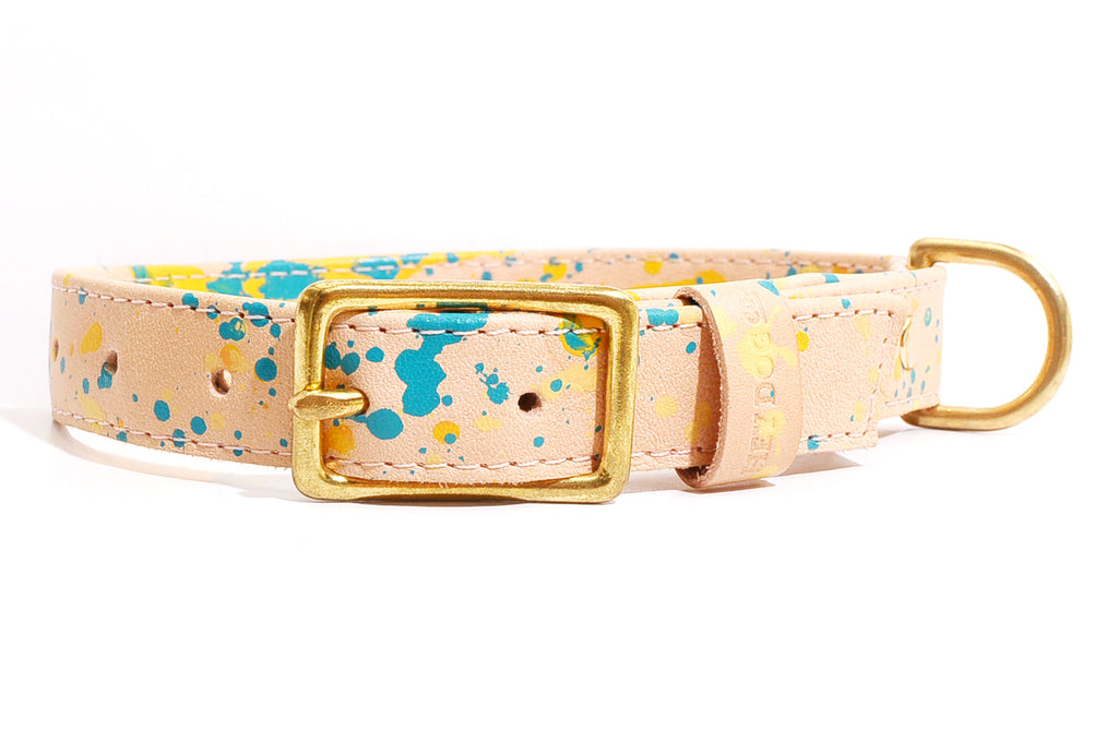 HEY DOG Co.| Yellow Dots Collar