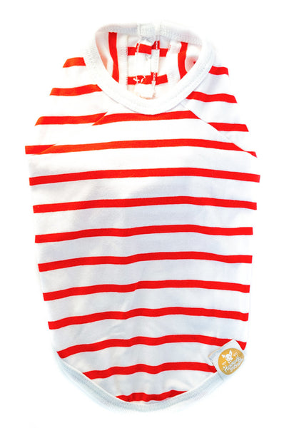 Red and White Stripped T-Shirt