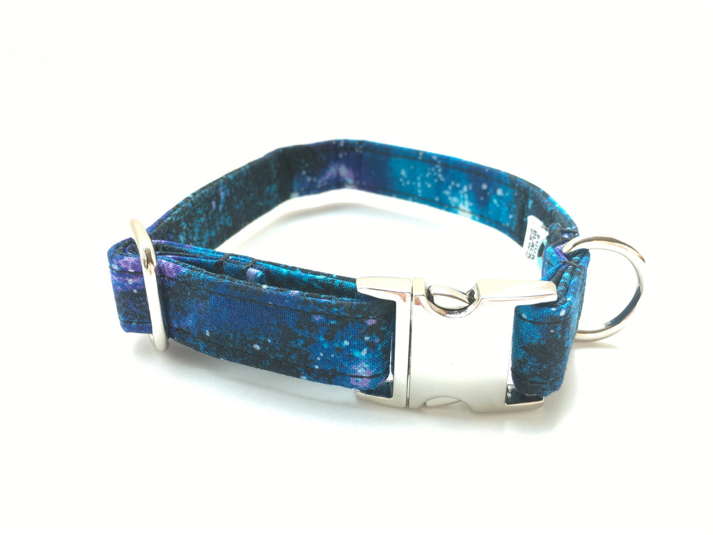 4 Black Paws | Galaxy Collar