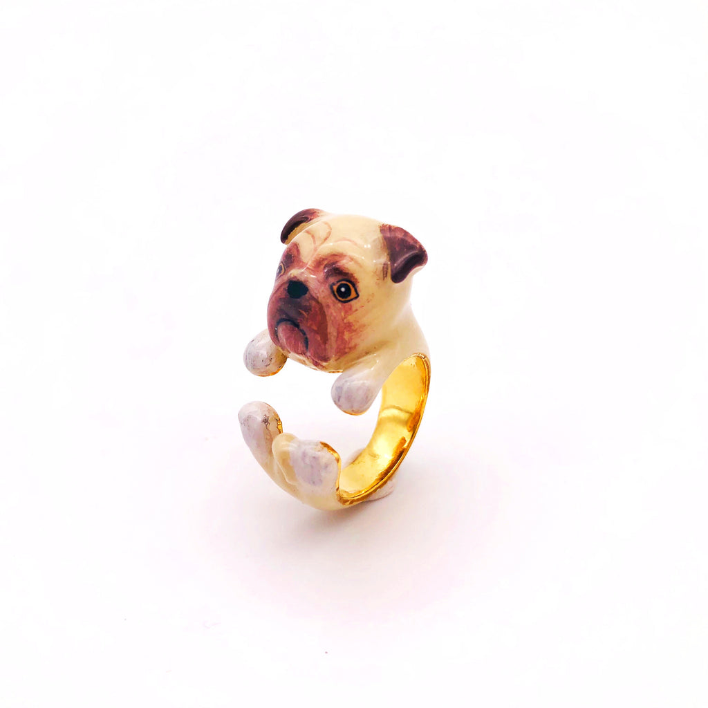 WEAR A WISH | Pug Ring