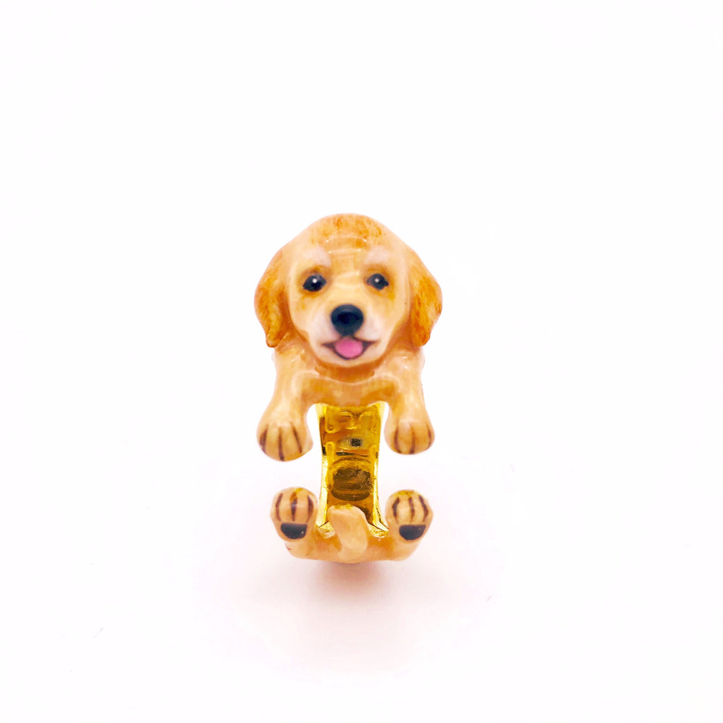 WEAR A WISH | Golden Retriever Ring