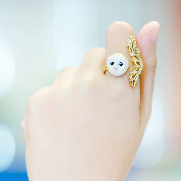 WEAR A WISH | Owl Ring