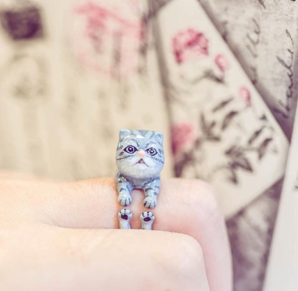 WEAR A WISH | Cat Ring
