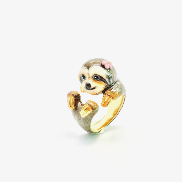WEAR A WISH | Miss Sloth Ring