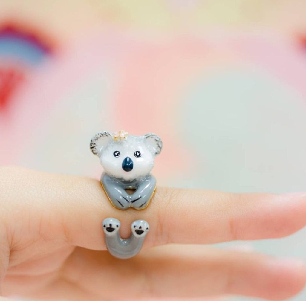 WEAR A WISH | Koala bear Ring