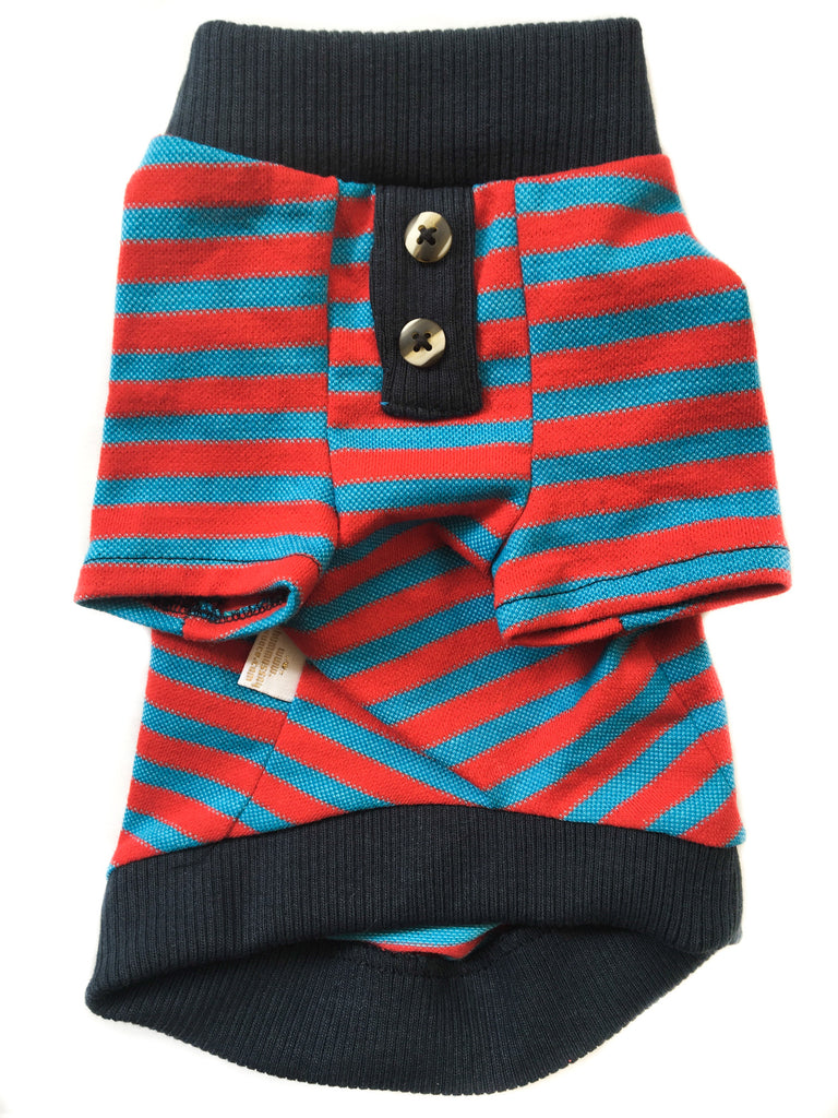 Red and Blue Stripped T-Shirt