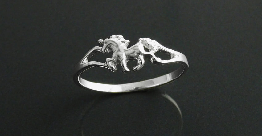 An introduction to sterling silver Unicorn ring