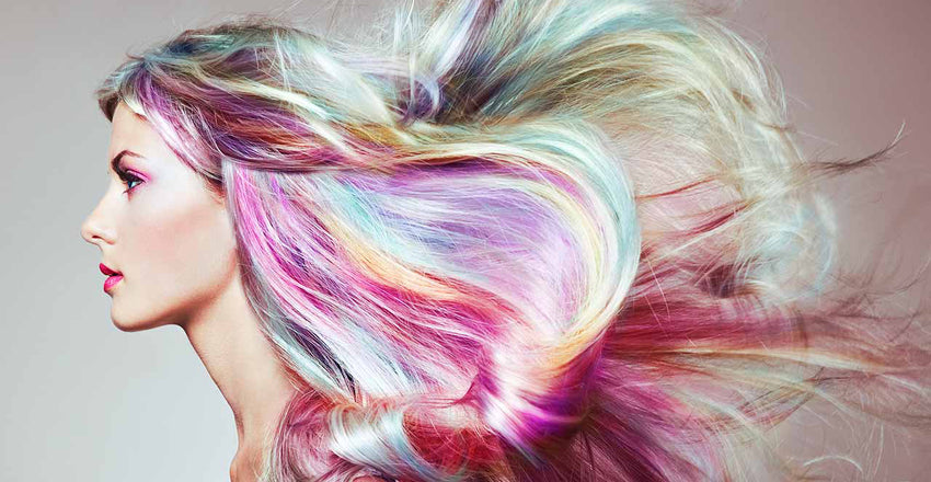 How to transform yourself to a Unicorn with rainbow hair?