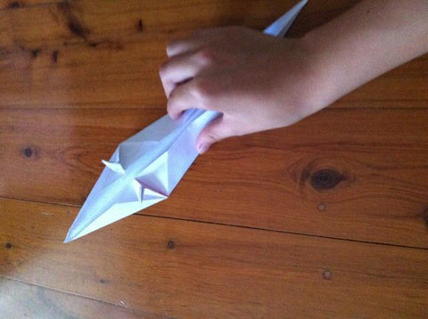 how to make an Origami Unicorn 16