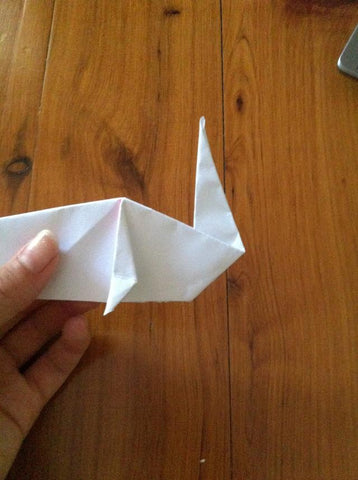 how to make an Origami Unicorn 19