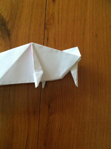how to make an Origami Unicorn 20