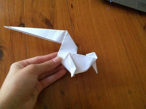 how to make an Origami Unicorn 24