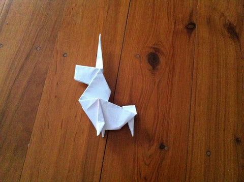 How to make an Origami Unicorn 27