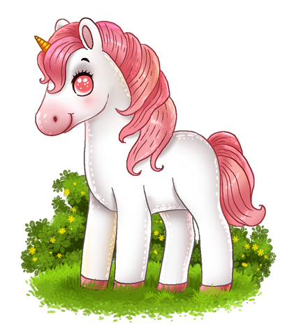 pink cute unicorn pictures