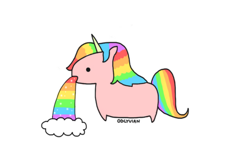 cute animated unicorn pictures