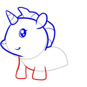 Unicorn Drawing For Kids Simple Step By Step Drawing For Little Child Unicorn Lovers Store