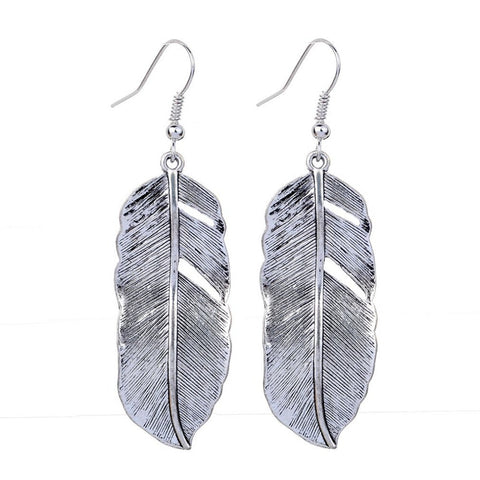 50% Off! Silver Feather LIMITED EDITION -FREE SHIPPING WORLD-WIDE!