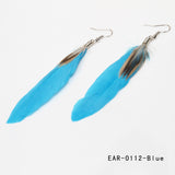 31% Off! Goose Feathers -Dangle Earrings -FREE SHIPPING WORLD-WIDE!