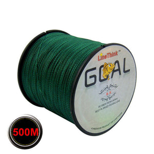 500M Multifilament 100% PE Braided Fishing Line