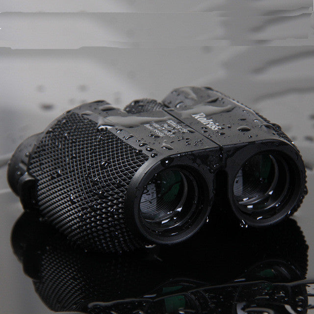10X25 waterproof binoculars telescope for travel + 8000-10000 Meters! Long distance Green 303 Laser Pointer + Military Tactical Backpack Hunting Assault Camouflage Bag